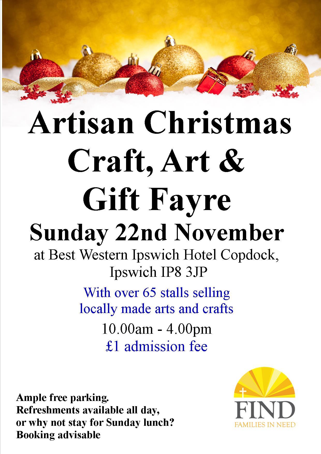 Artisan Christmas Craft, Art & Gift Fayre