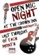 Live Music - Open Mic Night