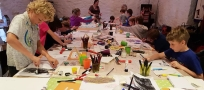 Flash Art Workshops for Kids: Mixed Media & Drawing