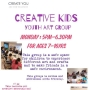 Creative Kids (Youth Art Group ages 7-16 years) Create You