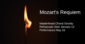 Mozart's Requiem performed by Maidenhead Choral Society