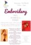 Embroidery with Isobella Perry