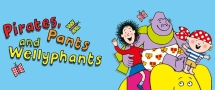 Pirates, Pants and Wellyphants, the illustrated world of Nick Sharratt