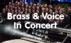 Brass and Voices in Concert