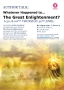 Author Talk - Whatever Happened to the Great Enlightenment?