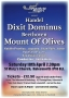 Handel's Dixit Dominus and Beethoven's Mount of Olives