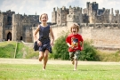 Easter holidays at Alnwick Castle, Northumberland
