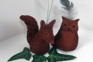 Children's Online Class: In Sky & On Ground: Clay Owl (Age 7+)