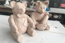 Children's Holiday Online Class: Pottery Teddy Bear (Age 7+)