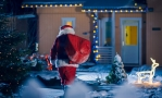 Father Christmas in Kent 2020
