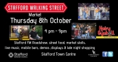 Stafford Walking Street Market 4pm -9 pm