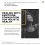 Dealing with Emotions - Foundation for Holistic Health