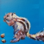 Cheeky Chipmunk acrylic workshop materials inc TV artist marilyn Allis