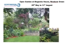 Open Garden at Magnolia House, Wooburn Green in aid of Scannappeal
