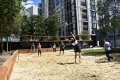 Beach Volleyball at Merchant Square