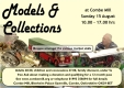 Combe Mill `Models & collections` Sun 15th August 2021