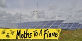 Westmill Wind Farm and Solar Park / 'Moths To A Flame' Open Day