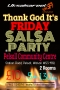 Thank God it's Friday Salsa, Modern Jive & Kizomba Party